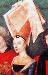 Женский средневековый головной убор. Обзор