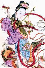 Древний Китай. Прически, украшения, косметика