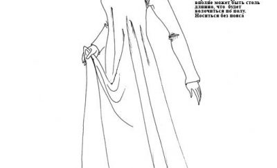 И снова женский костюм 13 века