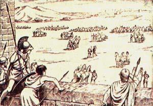 Тактика боевых действий и осадное искусство гомеровской эпохи