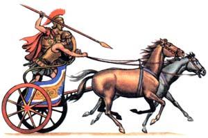 Колесницы гомеровской Греции