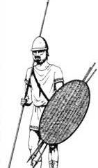 Легковооруженные пехотинцы эпохи классической Греции