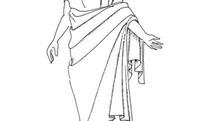 Ещё один мужской костюм древней Греции