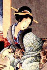 Древняя Япония. Прически, украшения, косметика