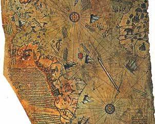 Древние карты и ледниковые периоды