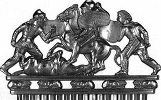 Вооружение скифов эпохи «Великой Скифии» (V — III вв. до н.э.)
