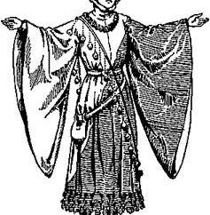 Художественное оформление одежды в средние века