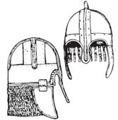 «Продвинутый» шлем викинга