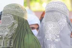 Женские головные накидки стран Востока