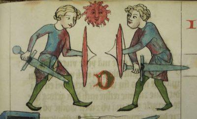 Судебный поединок в средневековой Европе