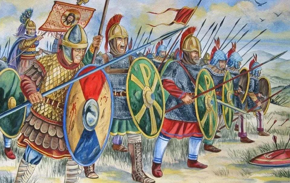 Воинский закон Византии (полевой устав византийской армии)