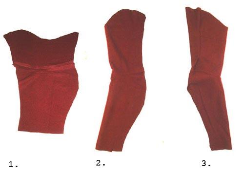 рукава средневековой одежды