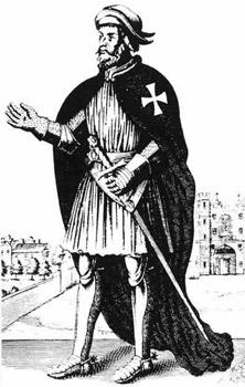 Посвящение в рыцари ордена госпитальеров