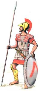 тактика греческой фаланги
