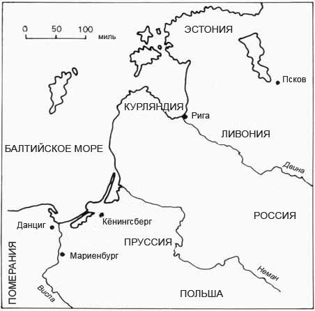 земли тевтонского ордена