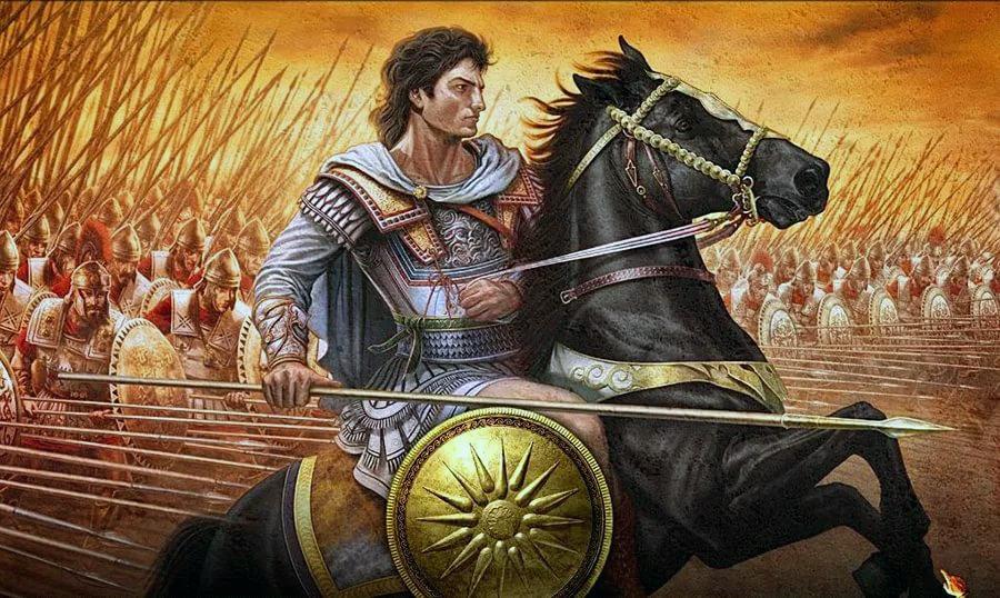 Александр Македонский пользовался уважением и любовью у подданных.