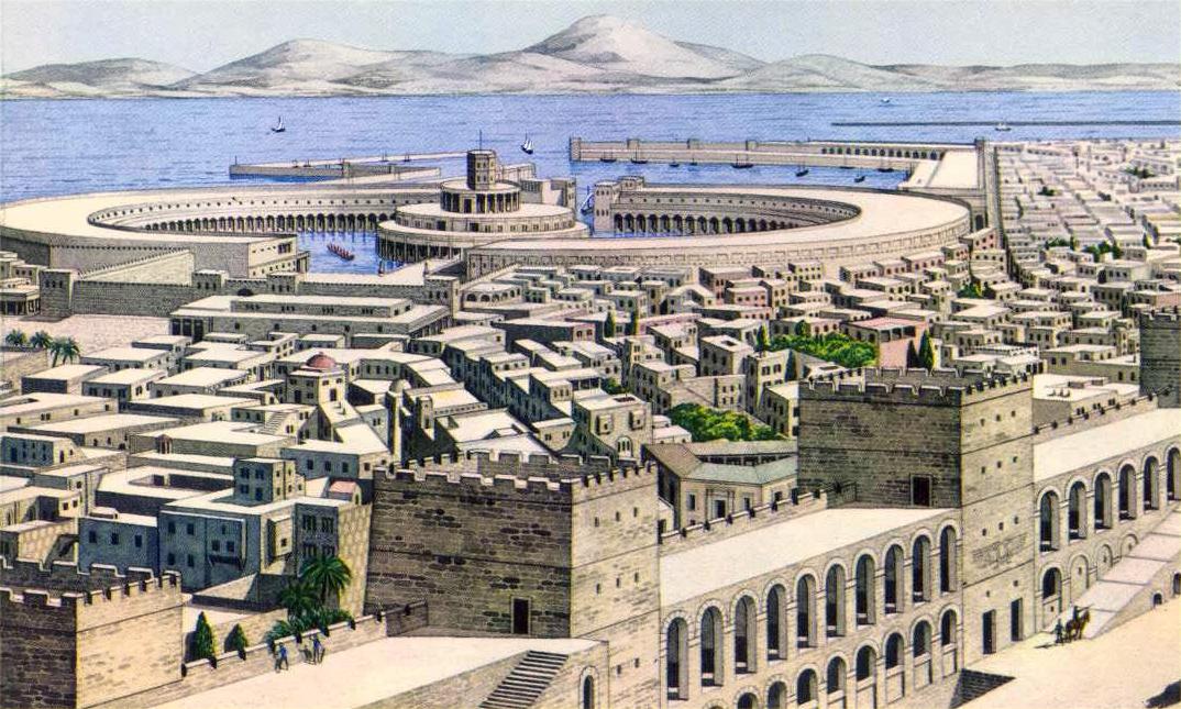 Карфагенская гавань - запросто могла бы стать одним из Чудес Света