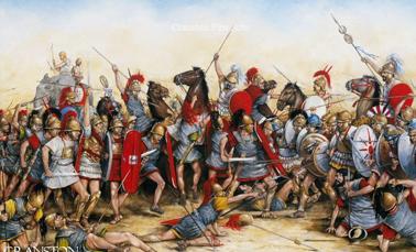 Бой при Каннах в 216 году до н. э.