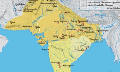 Империя Маурьев: от образования до гибели (Древняя Индия)