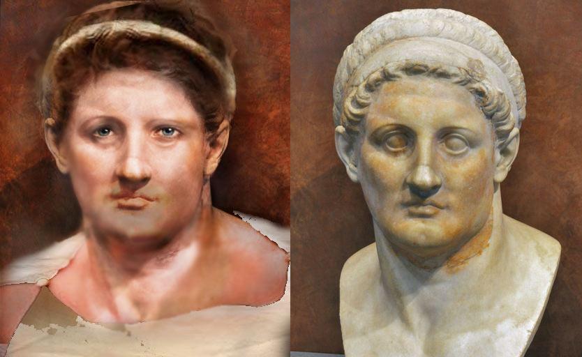 Птолемей Лаг - властелин Египта. Статуя и реконструкция прижизненного облика