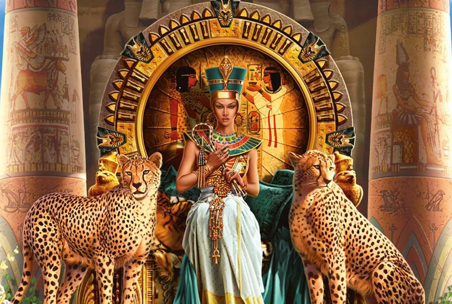Прославленная царица Клеопатра - последняя представительница династии Птолемеев на троне этой страны
