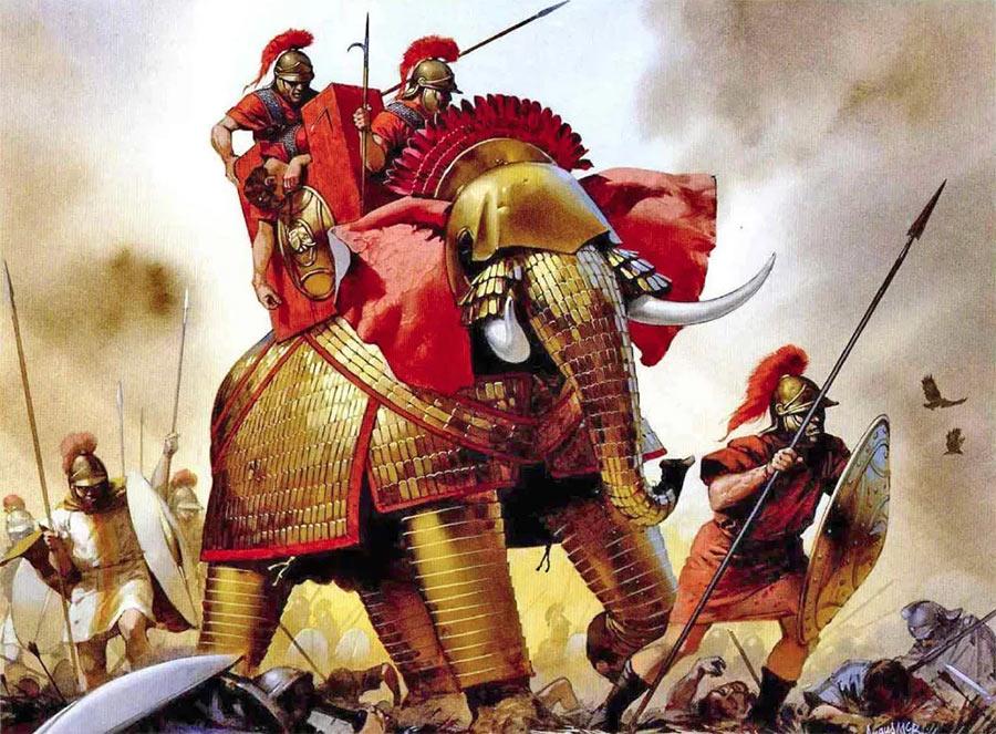 Армии диадохов уже прилично отличались от «классики эллинизма» по национальному составу и вооружению