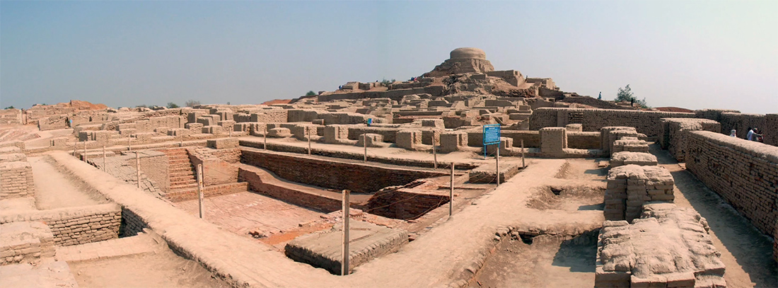 Раскопки Мохенджо-Даро в Индии