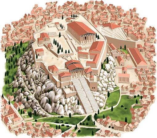 Реконструкция внешнего вида греческого полиса