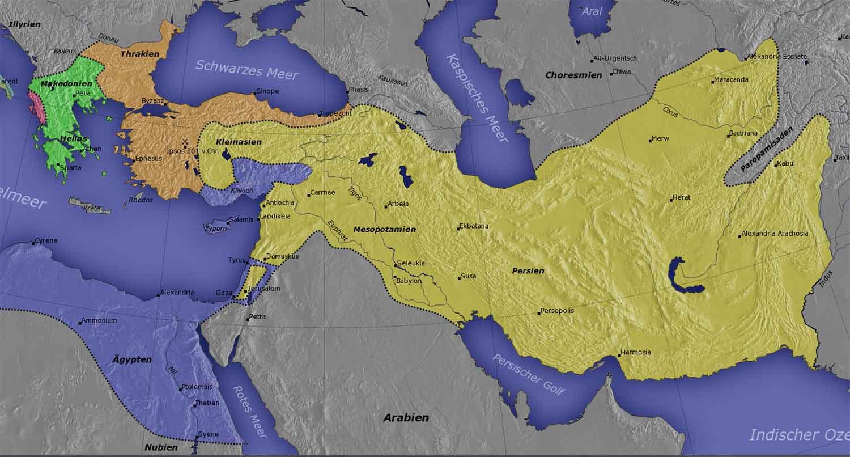 Государство Селевкидов - крупнейший осколок империи Александра