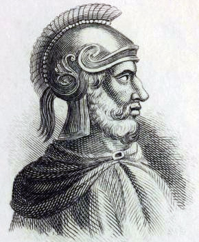 Гамилькар Барка - отец Ганнибала, также великолепный полководец