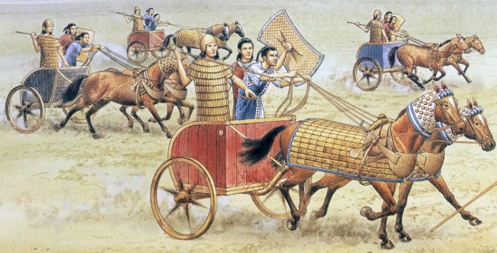 Битва при Кадеше между хеттами и египтянами