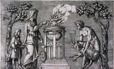 Культ мертвых у Древних Римлян