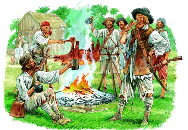 Буканьеры - охотники и пираты