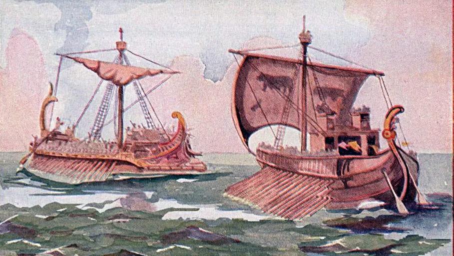 борьба с пиратами в древнем риме