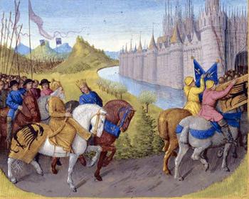 крестовый поход. Людовик VII и Конрад III