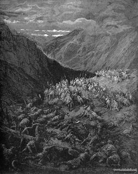 гибель крестоносцев Конрада III