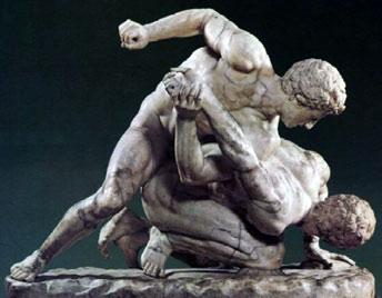 Панкратион в древней греции