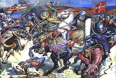 Битва при Хаттине. 1187 год