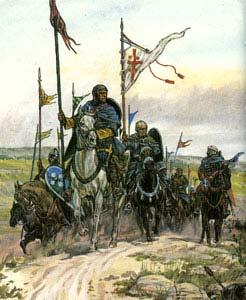 рыцарский отряд