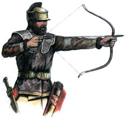скифский воин