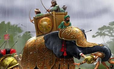 Военное дело Древней Индии