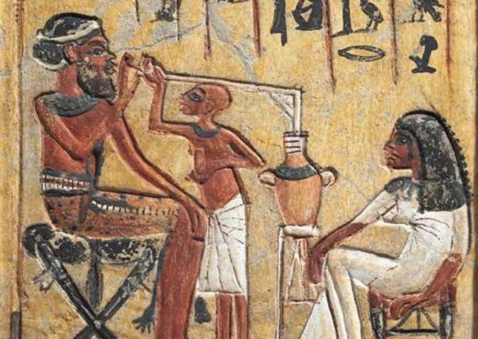 Древние Египтяне и... пиво