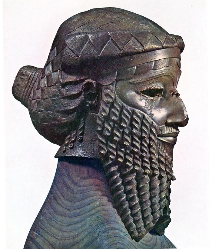 Скульптура Саргона I Аккадского