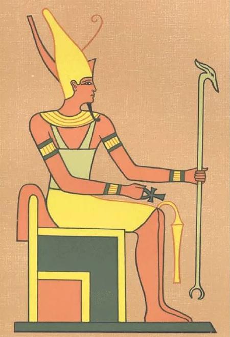 Египетский царь всех богов - Амон-Ра