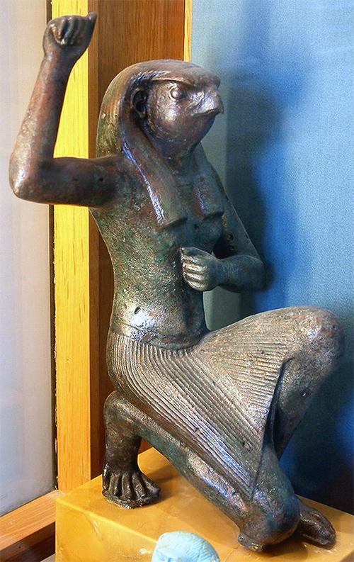 Бог неба по египетски - Гор