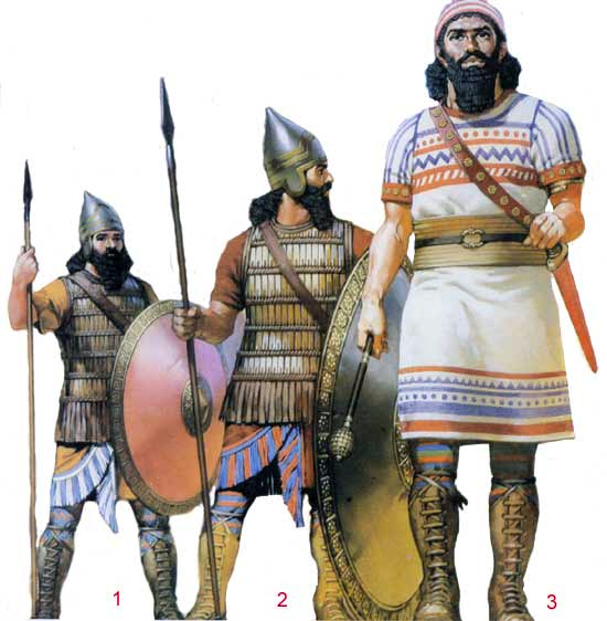 Пехота ассирийской армии