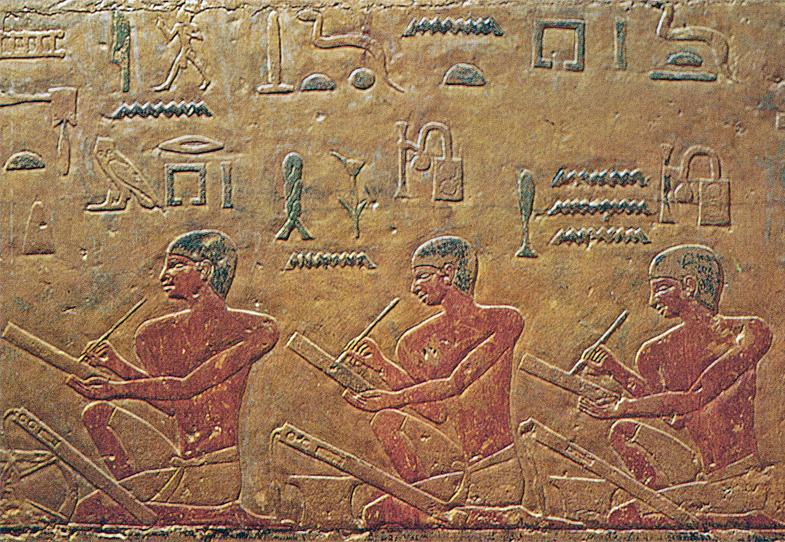 Труд писцов в древнем Египте уважали, ученых людей чтили