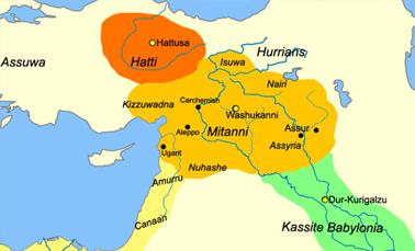 Древнее царство Митанни