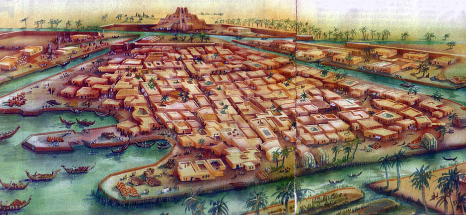 Аккадский город периода наибольшего могущества Аккадского царства