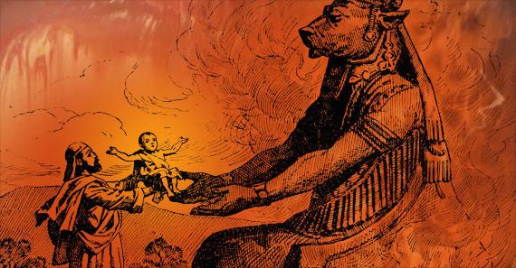 При всех положительных качествах финикийцев, эти ребята вовсе не были примером для подражания - вездесущие работорговцы приносящие в жертву рогатому богу (Молоху) грудных детей